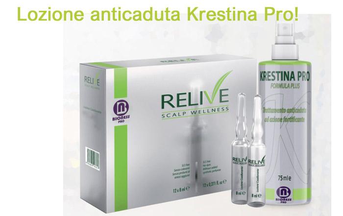 Lozione anticaduta per capelli Krestina Pro