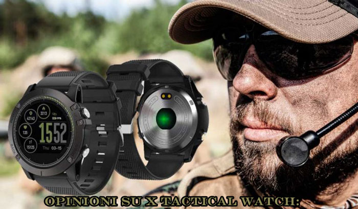 X Tactical Watch opinioni