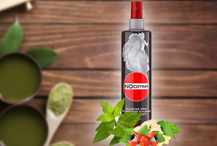 Ingredienti dello Spray Nocotina