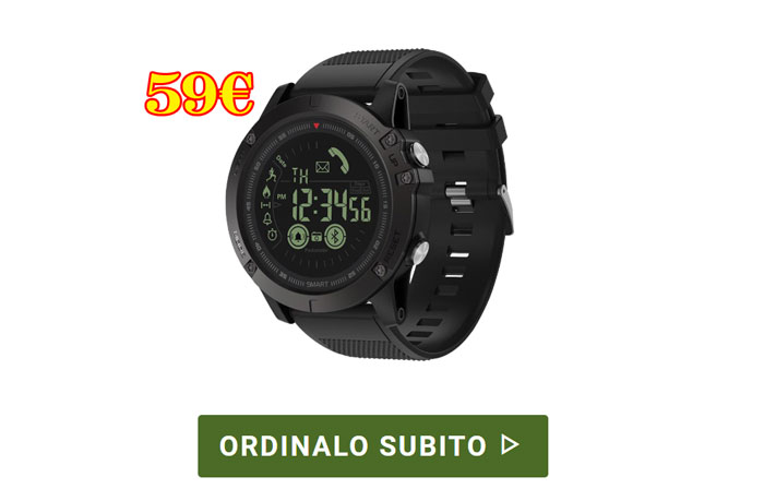 Costo di X Tactical Watch