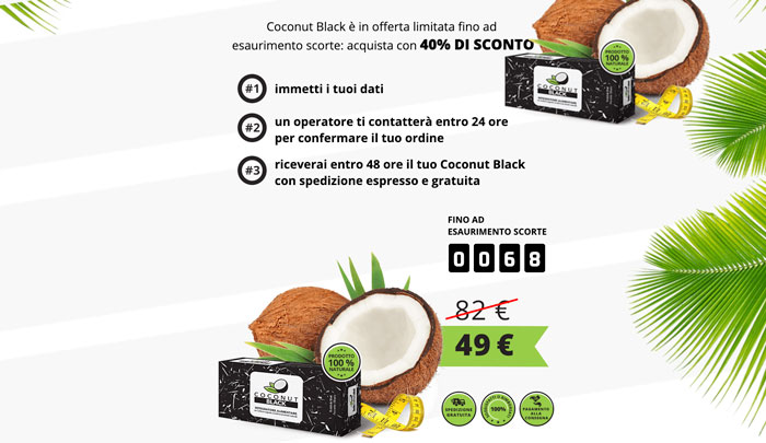 Costo di Coconut Black