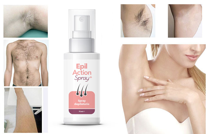 Come usare Epilaction Spray